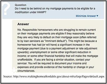 Do I have to miss a mortgage payment?