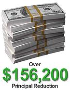 $156,200 Principal Reduction