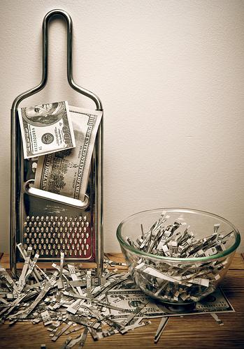 shredded-wasted-money