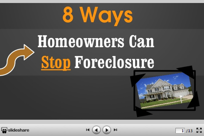 Slideshow: 8 Ways to Stop Foreclosure