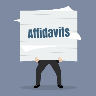 To get a final judgment a plaintiff typically needs to show multiple affidavits, including an affidavit of indebtedness in which the bank attests to the accuracy of the amount owed, an affidavit of reasonable attorneys fees and costs, an affidavit of amounts due and owing, and a loss mitigation affidavit..