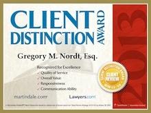 2013 Award certificate