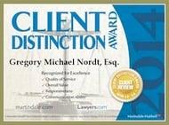 Customer service award 2014