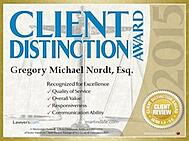 Amerihope Alliance Legal Services and managing partner Gregory M. Nordt have received many awards based on satisfying clients with foreclosure defense and loan modification assistance.