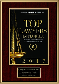 2017 Top Lawyer Award Certificate