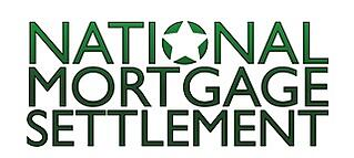 The National Mortgage Settlement is a settlement with the five largest mortgage servicers (Ally/GMAC, Bank Of America, Citi, JP Morgan Chase, and Wells Fargo) and the federal government and 49 states that requires the banks to pay $26 billion to homeowners and the government to settle numerous federal and state investigations related to mortgage servicing abuses.