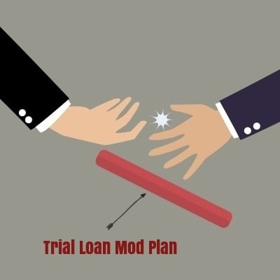 What happens when your mortgage servicer changes in the middle of making trial loan modification payments?
