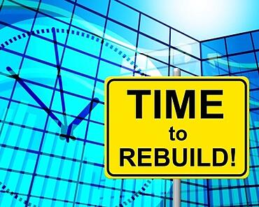 Homeowners who have gone through foreclosure must rebuild their credit and finances before buying another home.