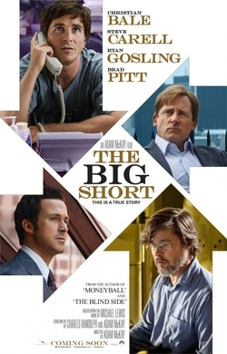 The Big Short tells the story of a group of traders and hedge fund managers who believed that the housing market was poised to fall off a cliff, which it did, causing mass foreclosures and a recession..