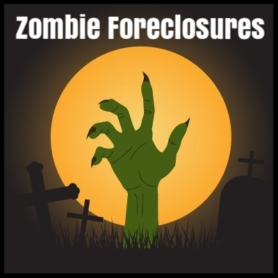 New Jersey, New York, Florida, and Illinois lead the nation in zombie foreclosures, according to a report from real estate information company RealtyTrac.