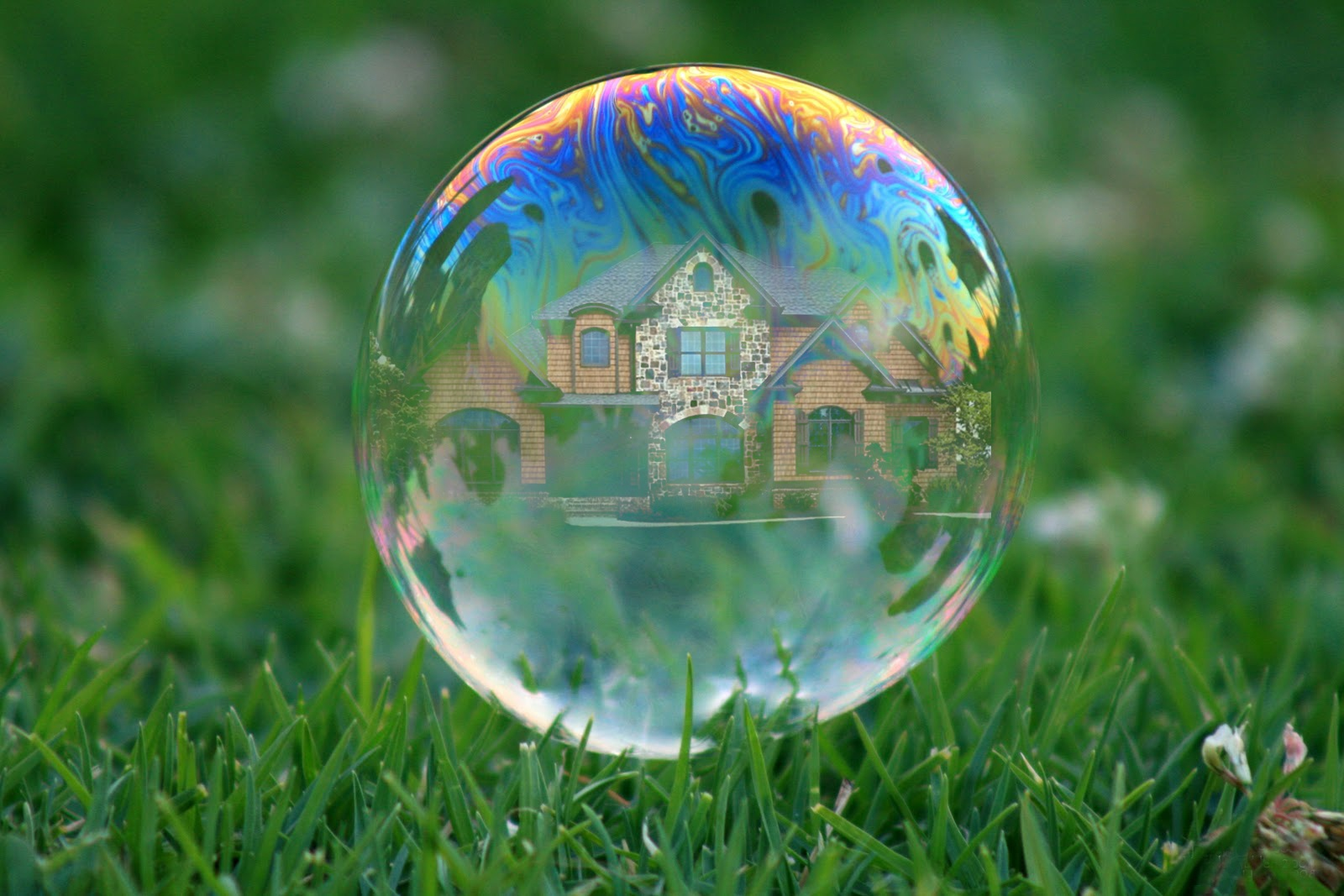 The U.S. housing market has recovered from the bubble bursting 10 years ago, but there have been fears ever since that we're living in another bubble.