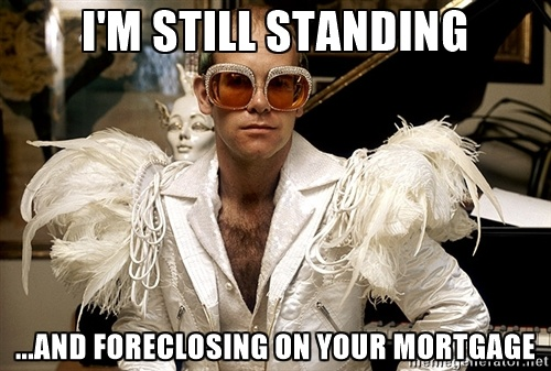 Your lender (or whomever owns your mortgage loan) is required to demonstrate their standing to foreclose on you at the time they file the action.