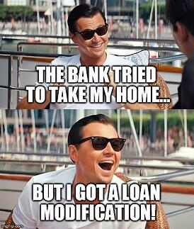 $153.71 lower payment approved for three month trial loan modification plan for our Ditech client who was $17,598.22 past due! Jordan Belfort, Leonardo DiCaprio. Wolf of Wall Street