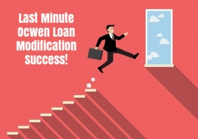 Our client in New Jersey was approved for a trial loan modification with Ocwen just days before his home was scheduled to be sold in a sheriff's sale.
