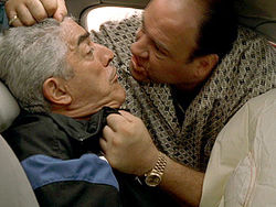Tony Soprano is not exactly someone you'd want to model your life after, unless you like constantly trying to avoid being murdered or going to prison, but there are some positive things you can learn from this fictional mob boss that could help you get a loan modification and avoid foreclosure. Tony Soprano threatening Phil Leotardo.