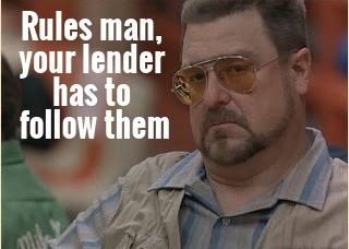 Lenders are required to notify you of their intent to foreclose your property.
