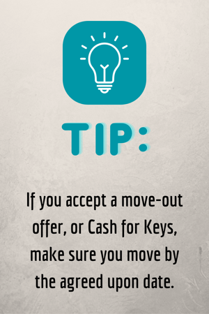 Move Out After Foreclosure Tip