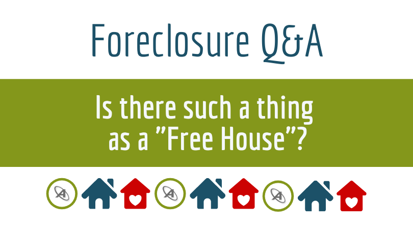 foreclosure free house