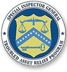 """SIGTARP is an independent law enforcement agency that investigates fraud, waste, and abuse related to the $475 billion Troubled Asset Relief Program (TARP), also known as """"the bailout."""""""