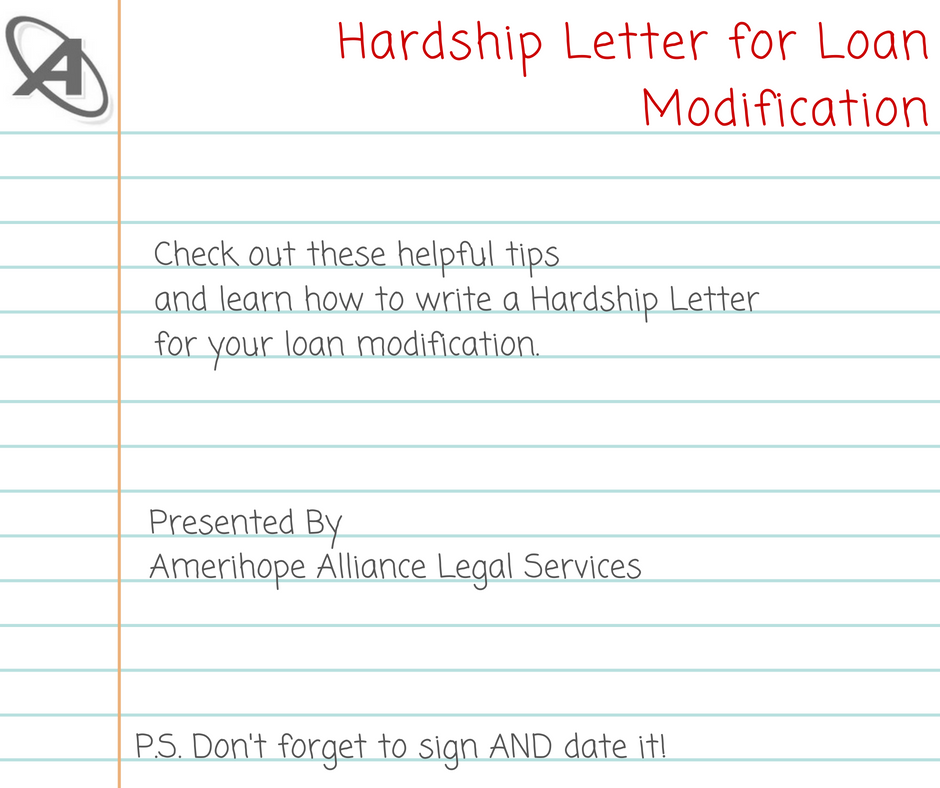Foreclosure and Loan Modification Blog | write a hardship letter