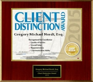 2015 Client Distinction Award Image